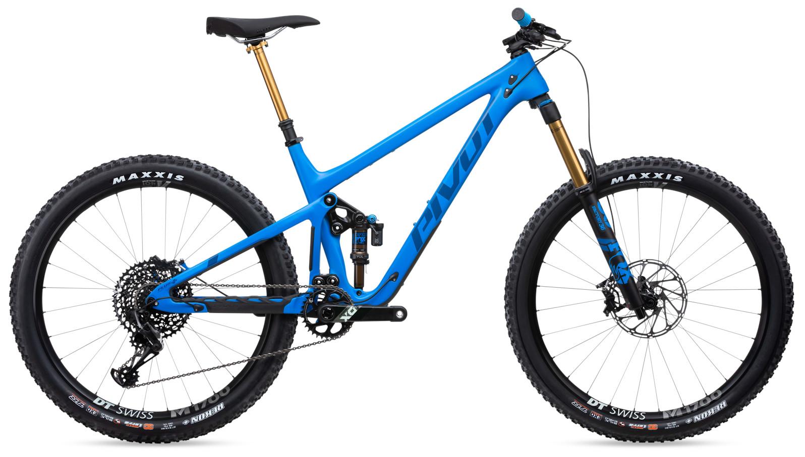 2020 Pivot Switchblade Pro X01  - Horizon Blue with 27.5+ wheels