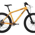 2020 Surly Karate Monkey Toxic Tangerine RockShox 35 Gold RL Bike