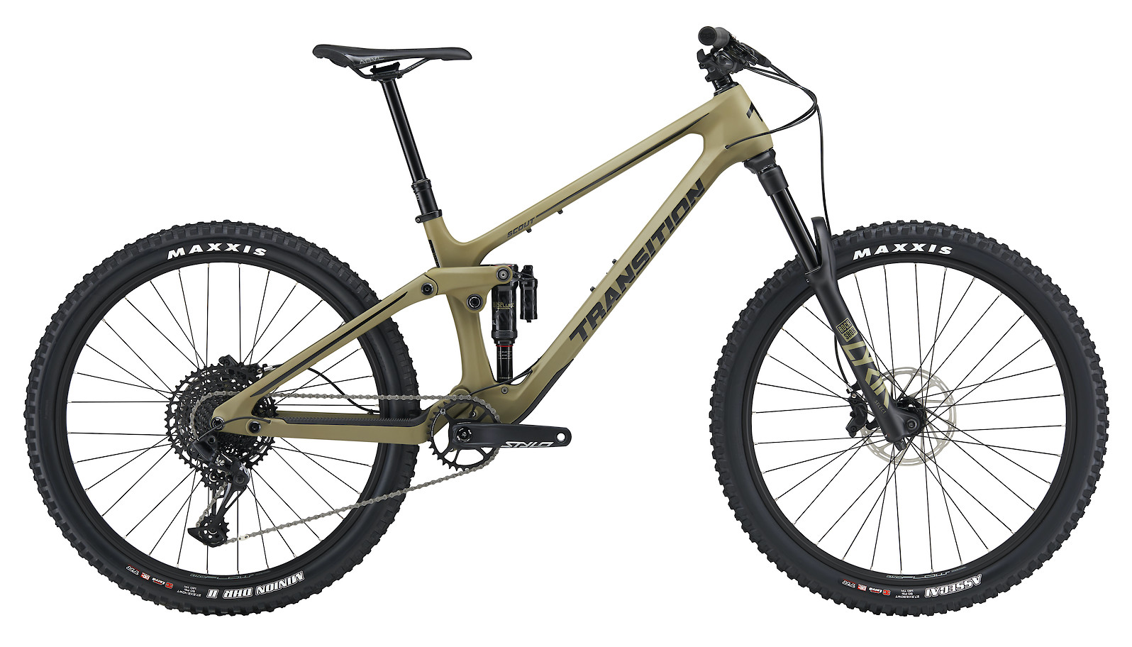 2020 Transition Scout Carbon NX (Matte Olive Green)