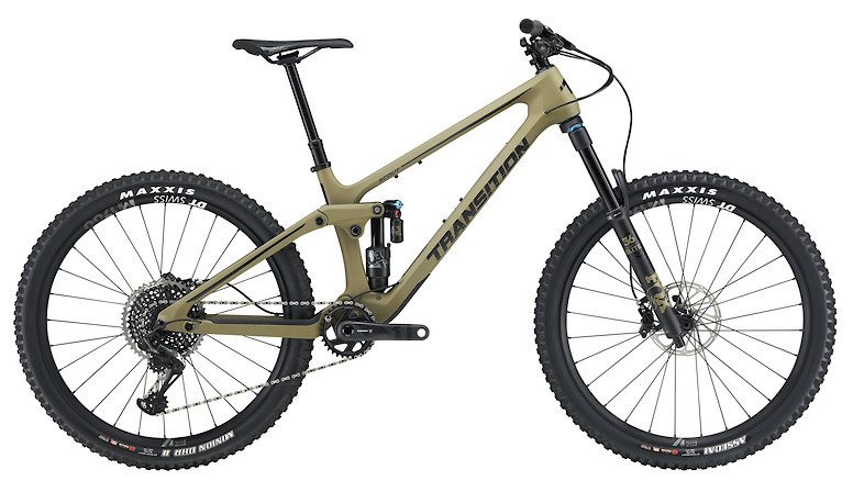 2020 Transition Scout Carbon X01 (Matte Olive Green)
