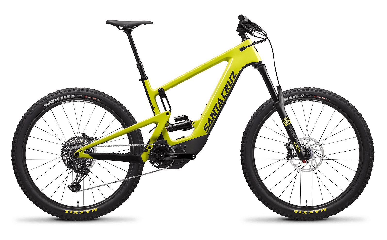 2020 Santa Cruz Heckler Carbon CC R (Yellowjacket and Black)