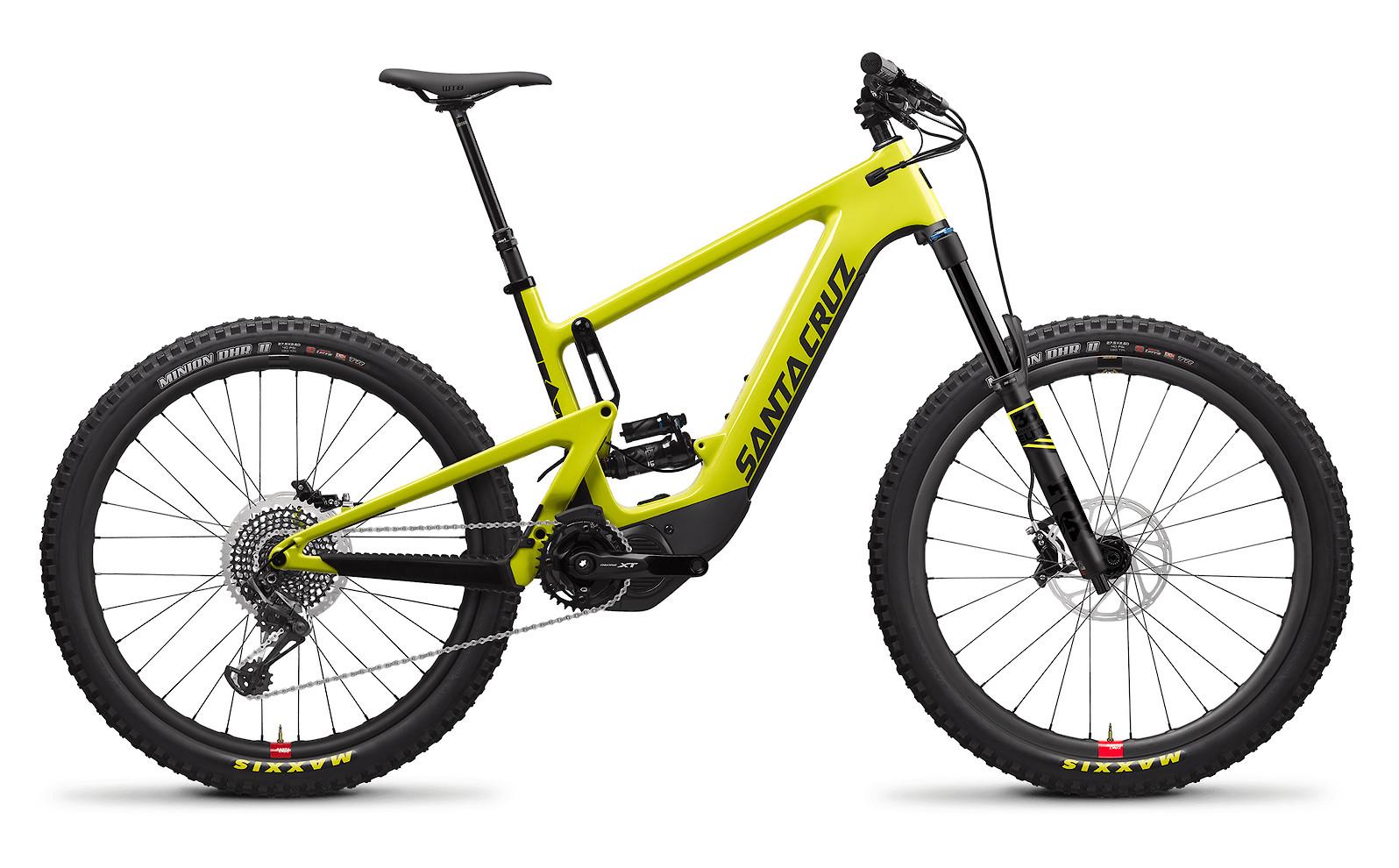 2020 Santa Cruz Heckler Carbon CC X01 RSV (Yellowjacket and Black)