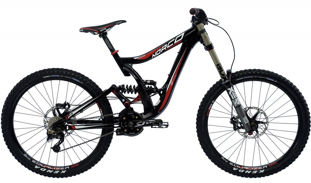2011 Norco Team Dh Bike Reviews Comparisons Specs