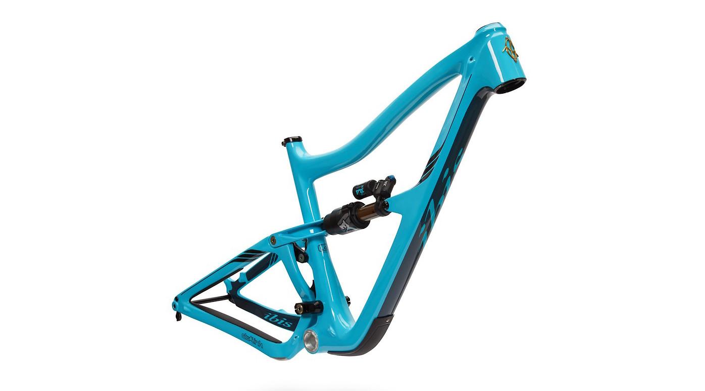Ibis Ripmo V2 Carbon Frame (Bug Zapper Blue)
