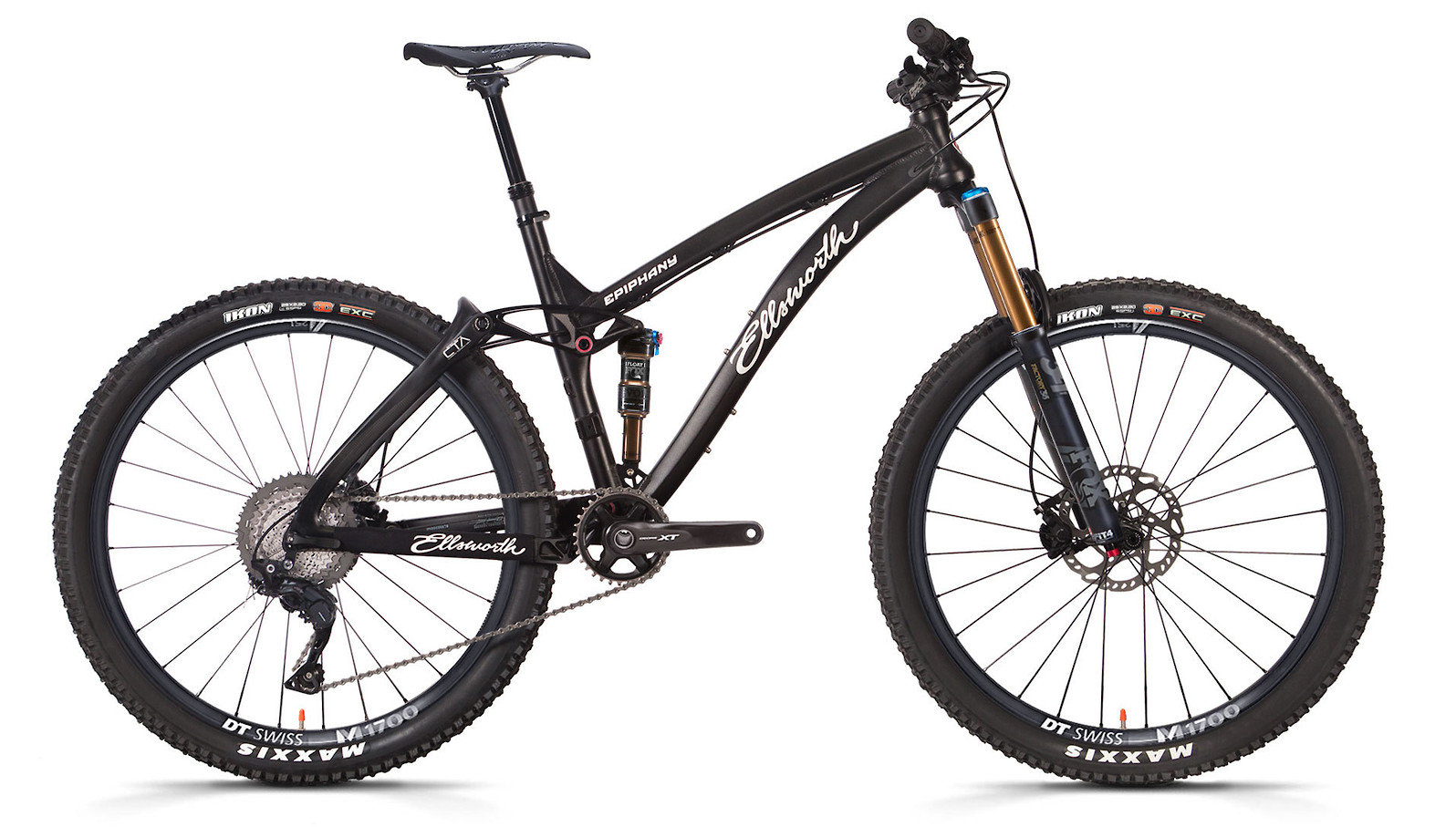 "2019 Ellsworth Epiphany Alloy Convert XT (Black; 29"" build shown)"