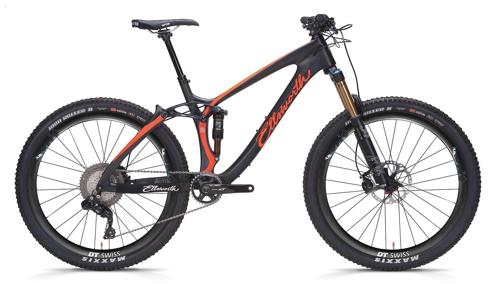 2019 Ellsworth Rogue Forty (Black/Orange; custom build shown)
