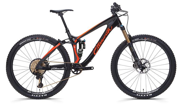 2019 Ellsworth Evolution (Black/Orange; XX1 build shown)