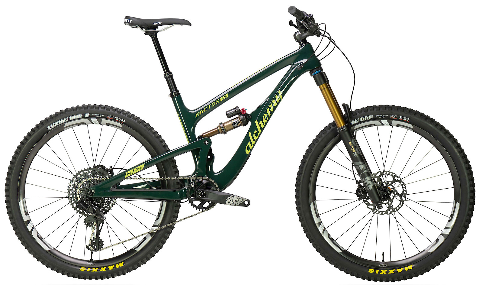 2020 Alchemy Arktos 27.5 Nightwatch Citronnette (GX Eagle build shown)