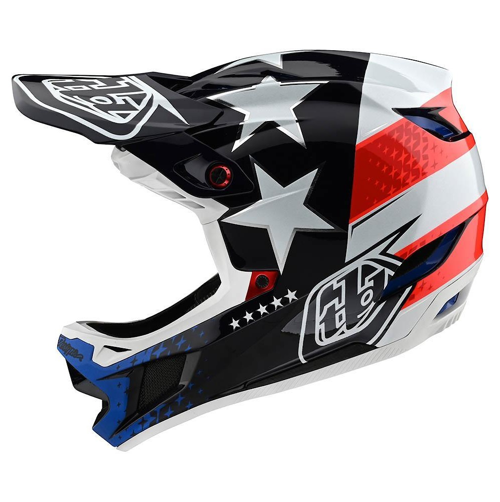 Troy Lee Designs D4 Composite (Freedom 2.0 Red/White)