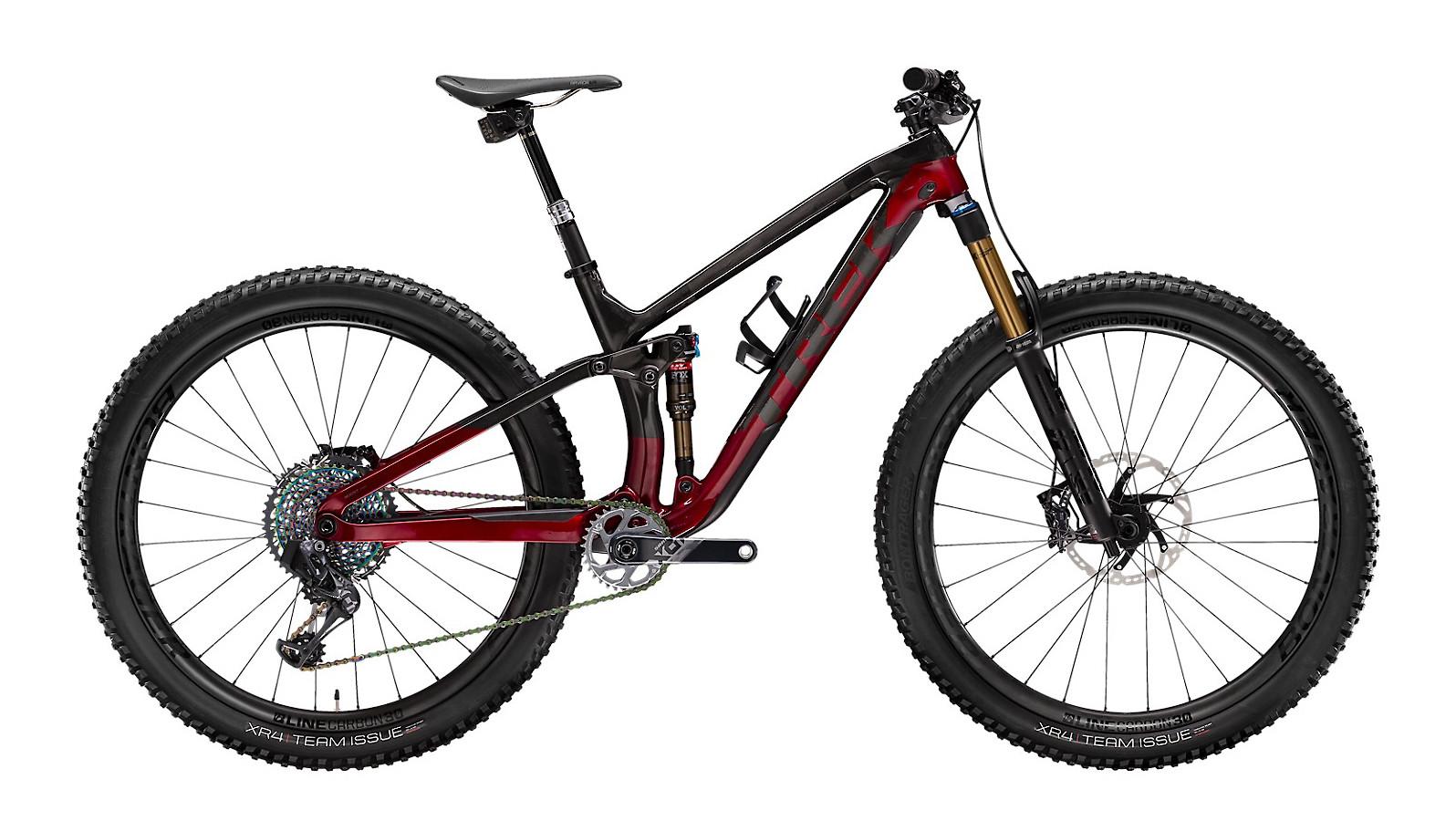 2020 Trek Fuel EX 9.9 X01 AXS (Raw Carbon/Rage Red)
