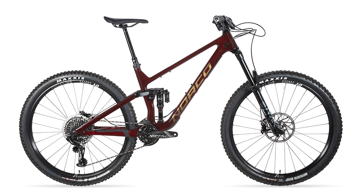 2020 Norco Sight C Custom (Dark Red/Copper)