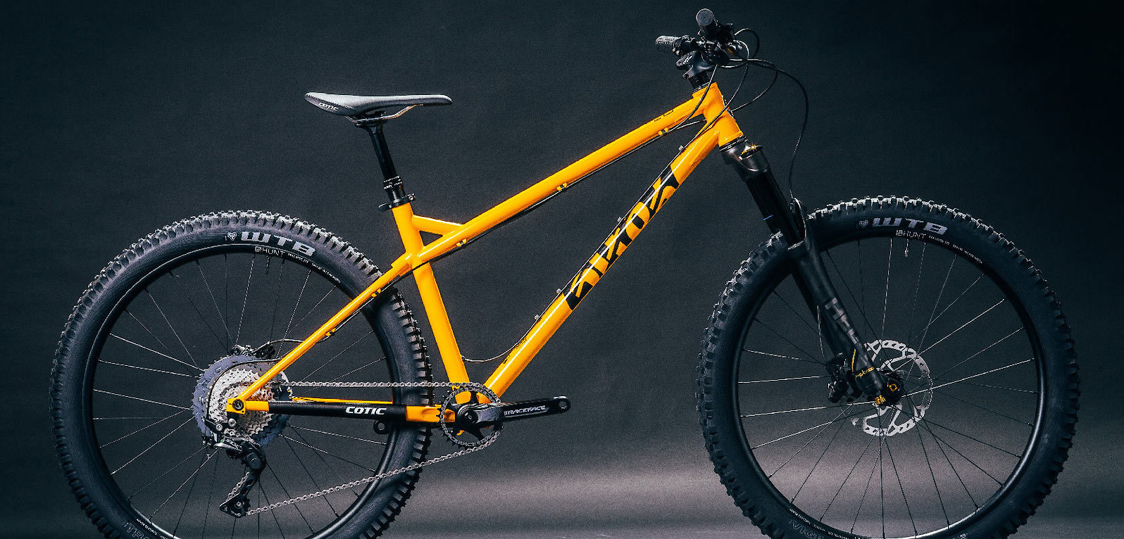 2020 Cotic BFe (Sunny Yellow, custom build pictured)