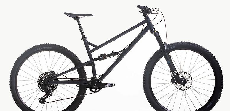 2020 Cotic FlareMAX (Dark Grey; custom build pictured)