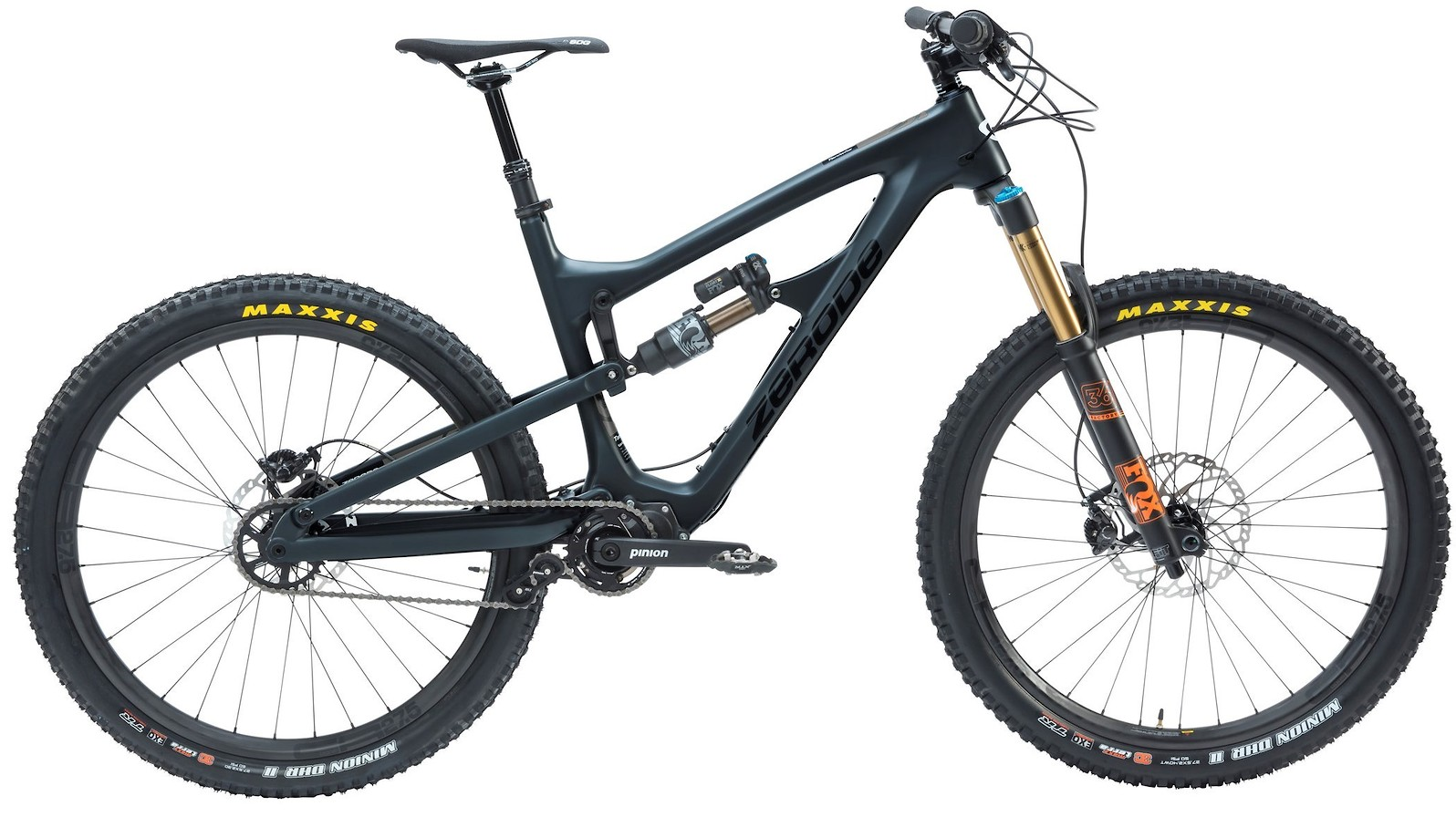 2020 Zerode Taniwha Matte Obsidian (Image does not accurately represent build specs)