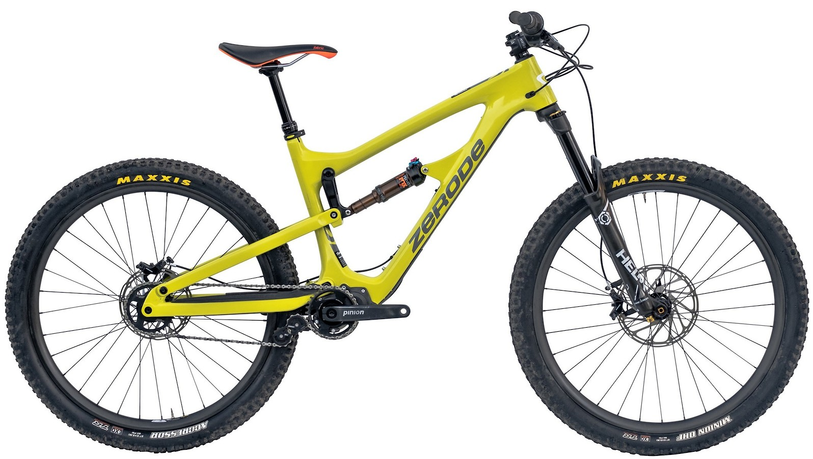 2020 Zerode Taniwha Trail Electric Grellow (Image does not accurately represent build specs)