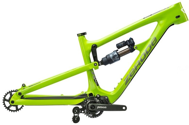 2020 Zerode Taniwha Trail Mulét Frame Electric Grellow (Image does not accurately represent build specs)