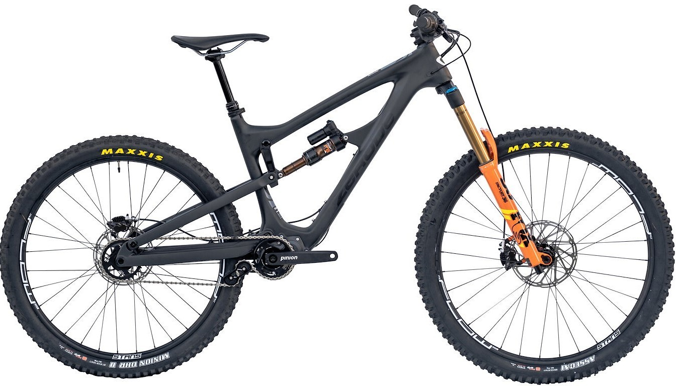 2020 Zerode Taniwha Mulét Matte Obsidian (Image does not accurately represent build specs)