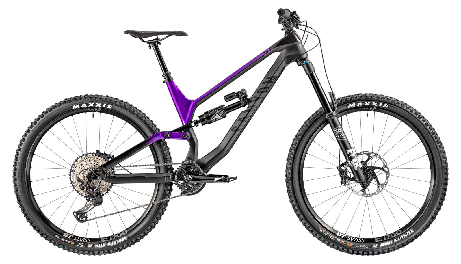 2020 Canyon Torque CF 8.0 (Purple Trasher)