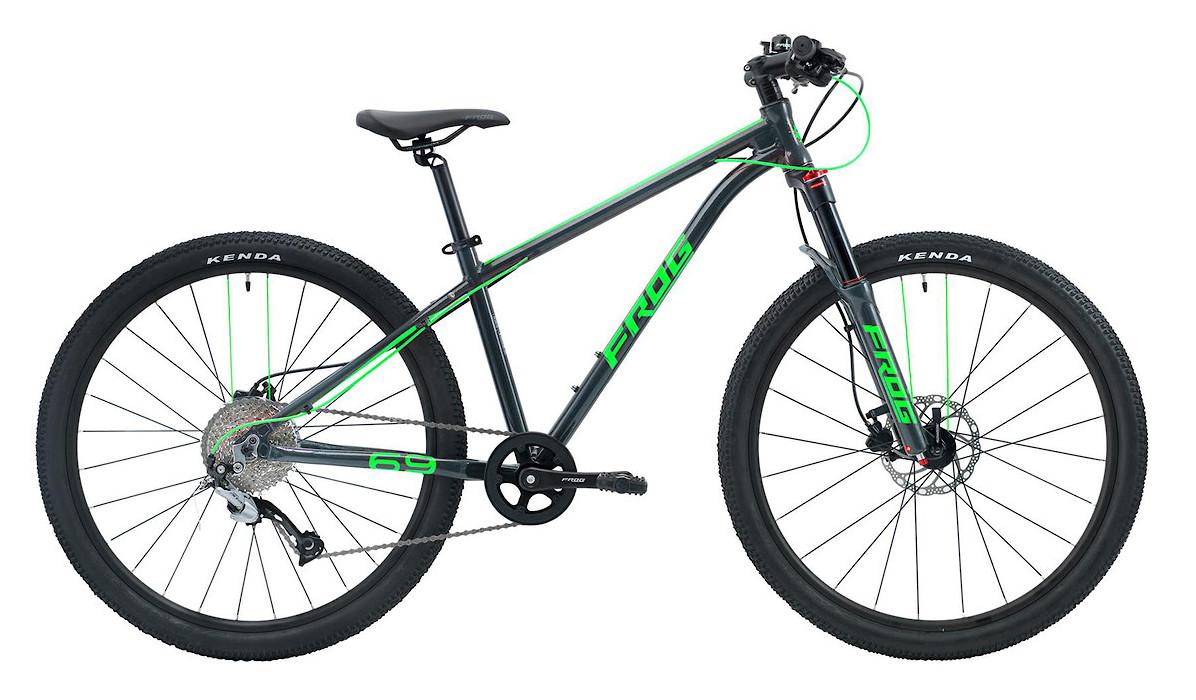 2019 Frog MTB 69 (Metallic Grey/Neon Green)