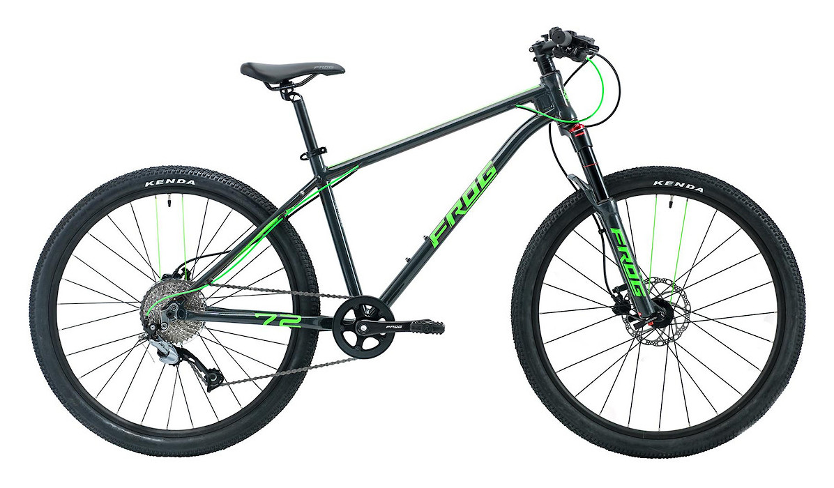 2019 Frog MTB 72 (Metallic Grey/Neon Green)