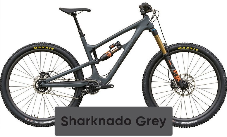 2020 Zerode Katipo Sharknado Grey (Image does not accurately represent build specs)