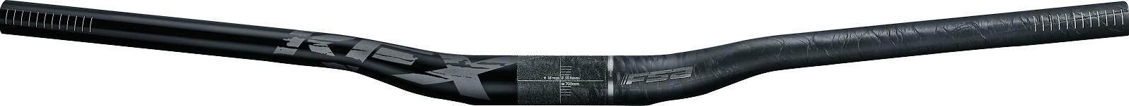 FSA KFX Carbon Handlebar (low riser)