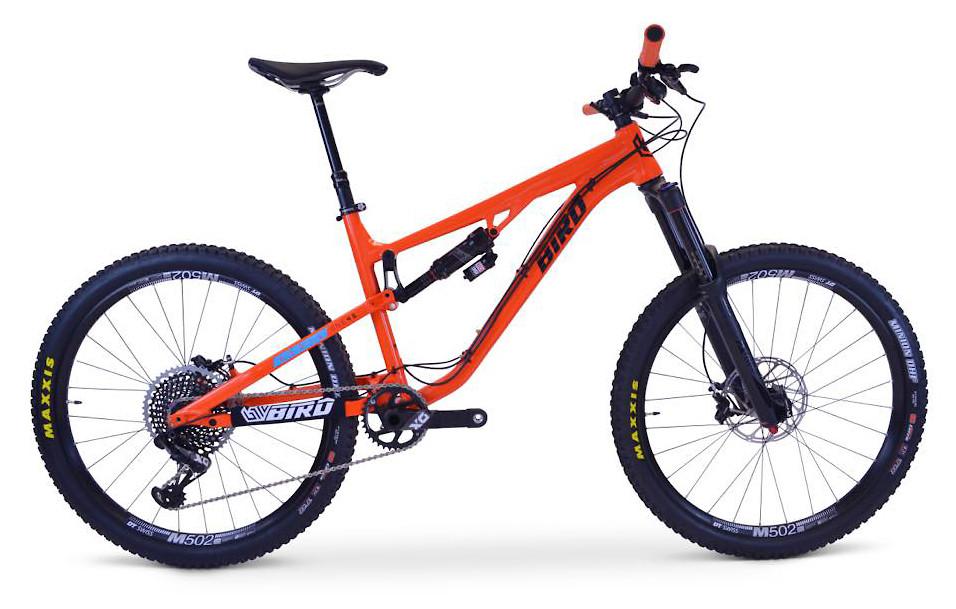 2020 Bird Aeris 145 (Tangerine Orange; custom build shown)