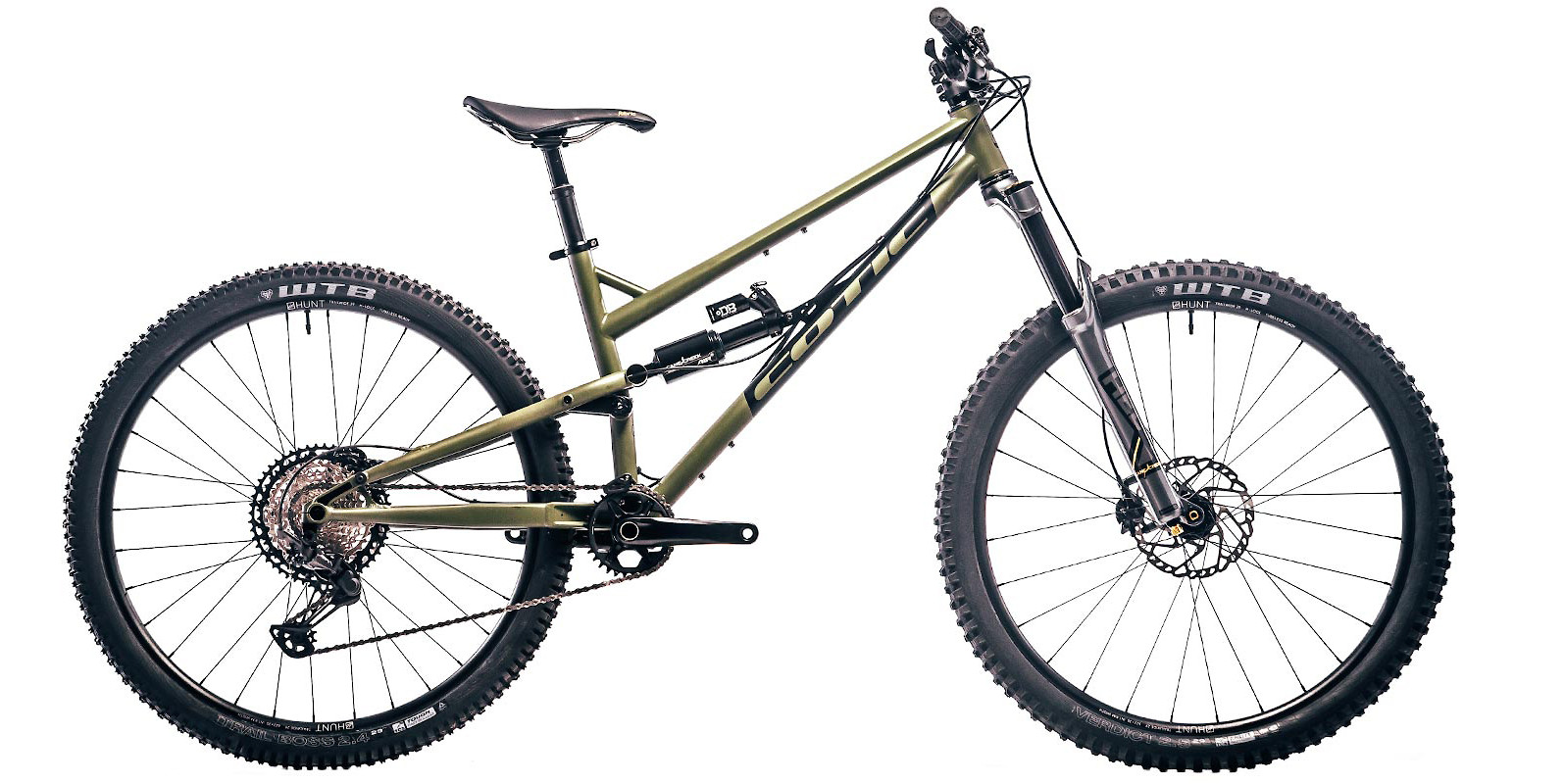 2020 Cotic RocketMAX (Army Green; custom build shown)