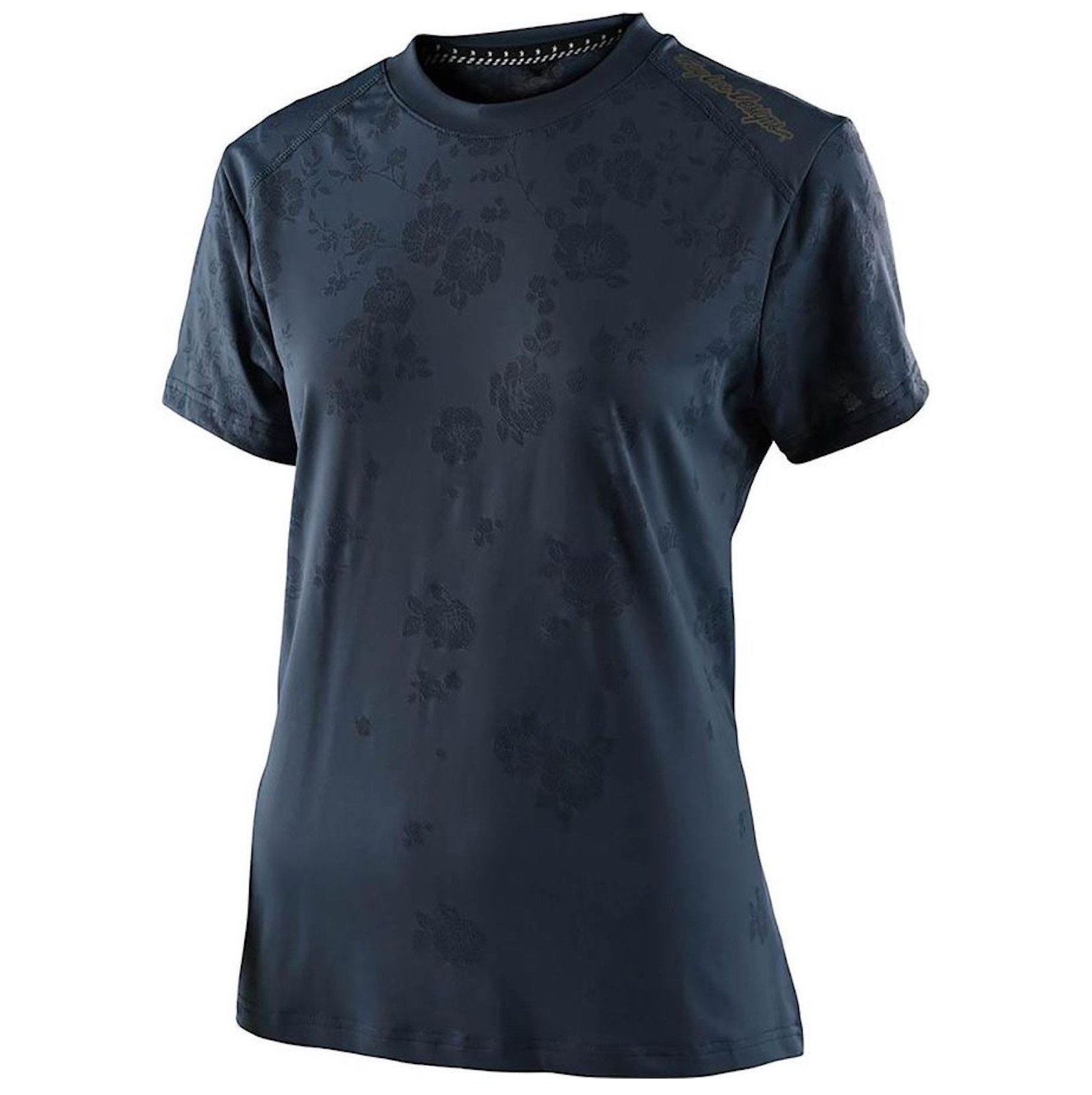 Troy Lee Designs Lilium Short-Sleeve Jersey (Floral Charcoal)