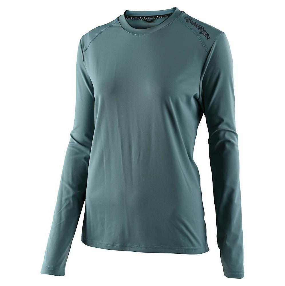 Troy Lee Designs Lilium Long-Sleeve Jersey (Solid Dusk)