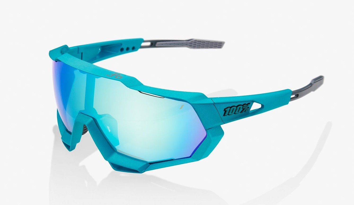 100% Speedtrap - Peter Sagan LE, Blue Topaz Multilayer Mirror Lens