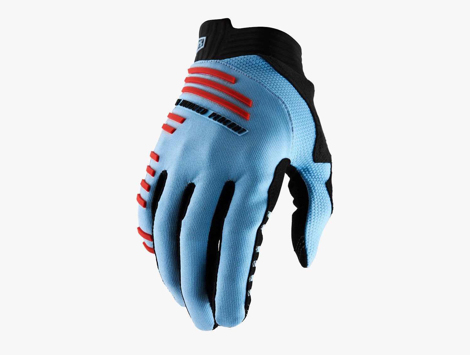 100% R-Core - Light Blue/Fluo Red