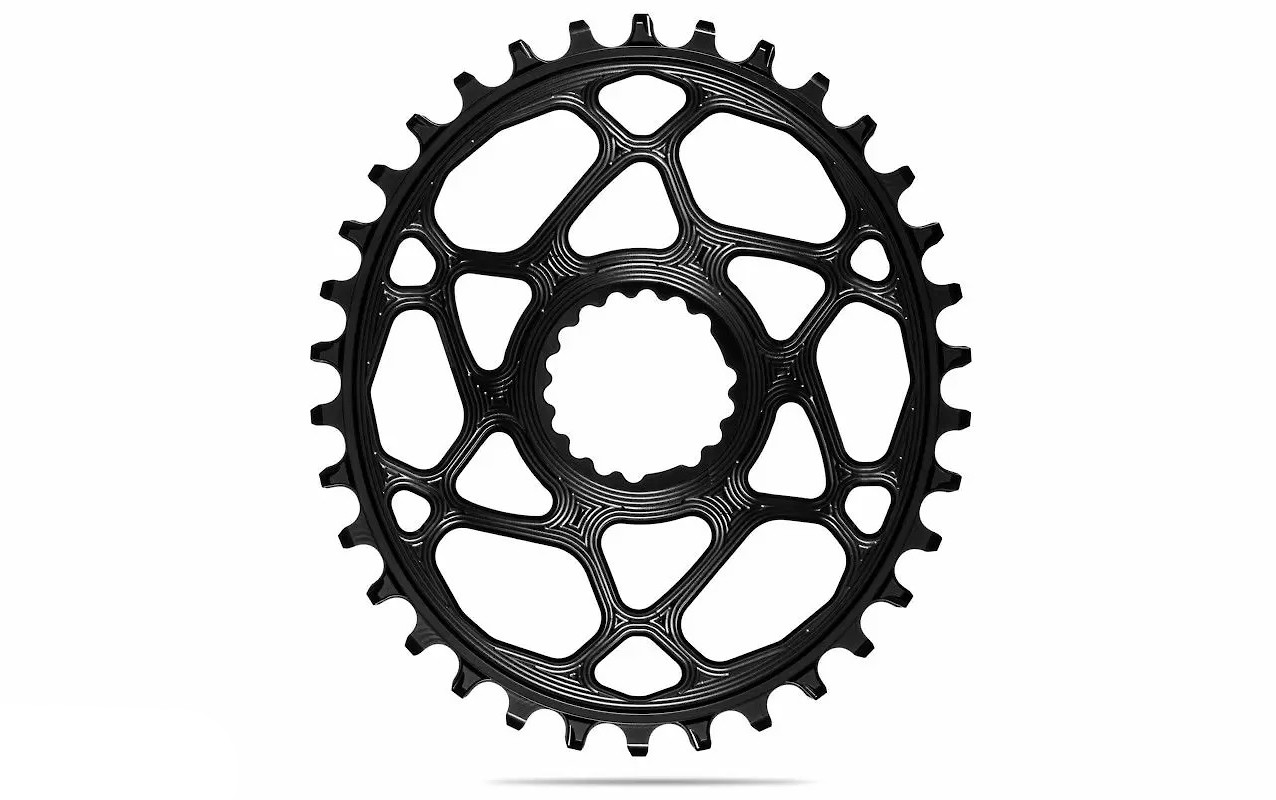 absoluteBLACK Oval Direct Mount Cannondale/FSA Chainring - Black