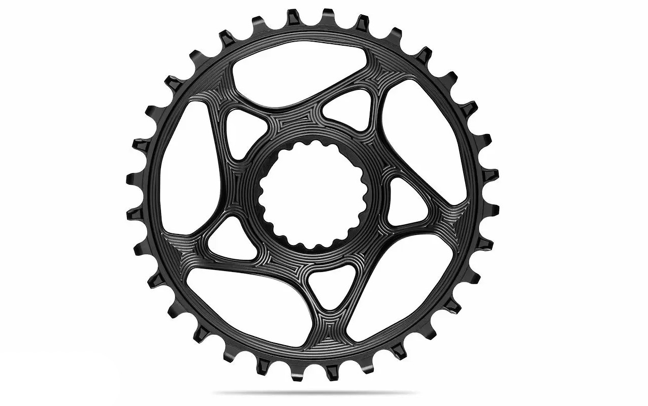 absoluteBLACK Round Direct Mount Cannondale/FSA Chainring - Black