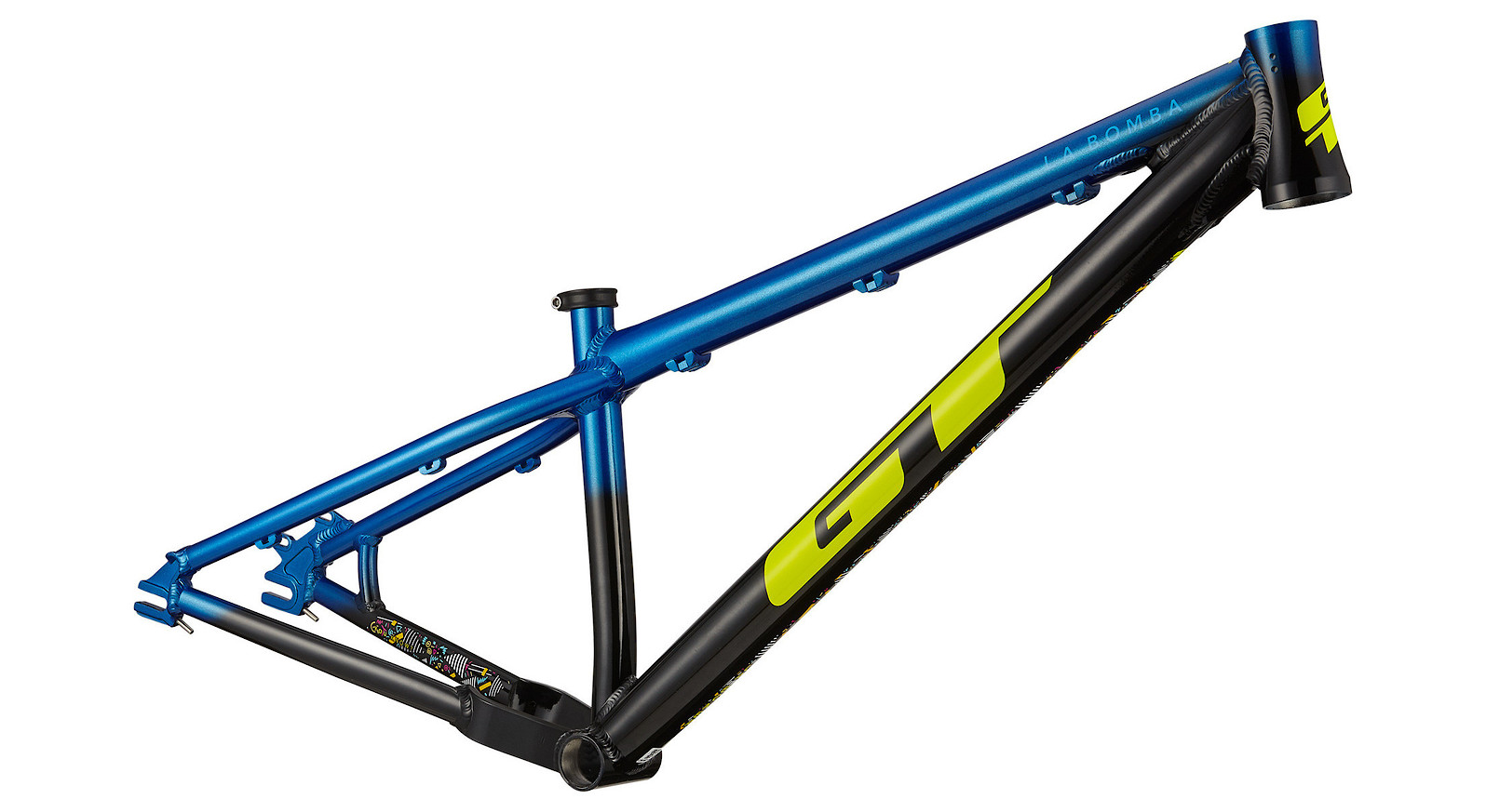 GT LaBomba Frame (Black/Blue)
