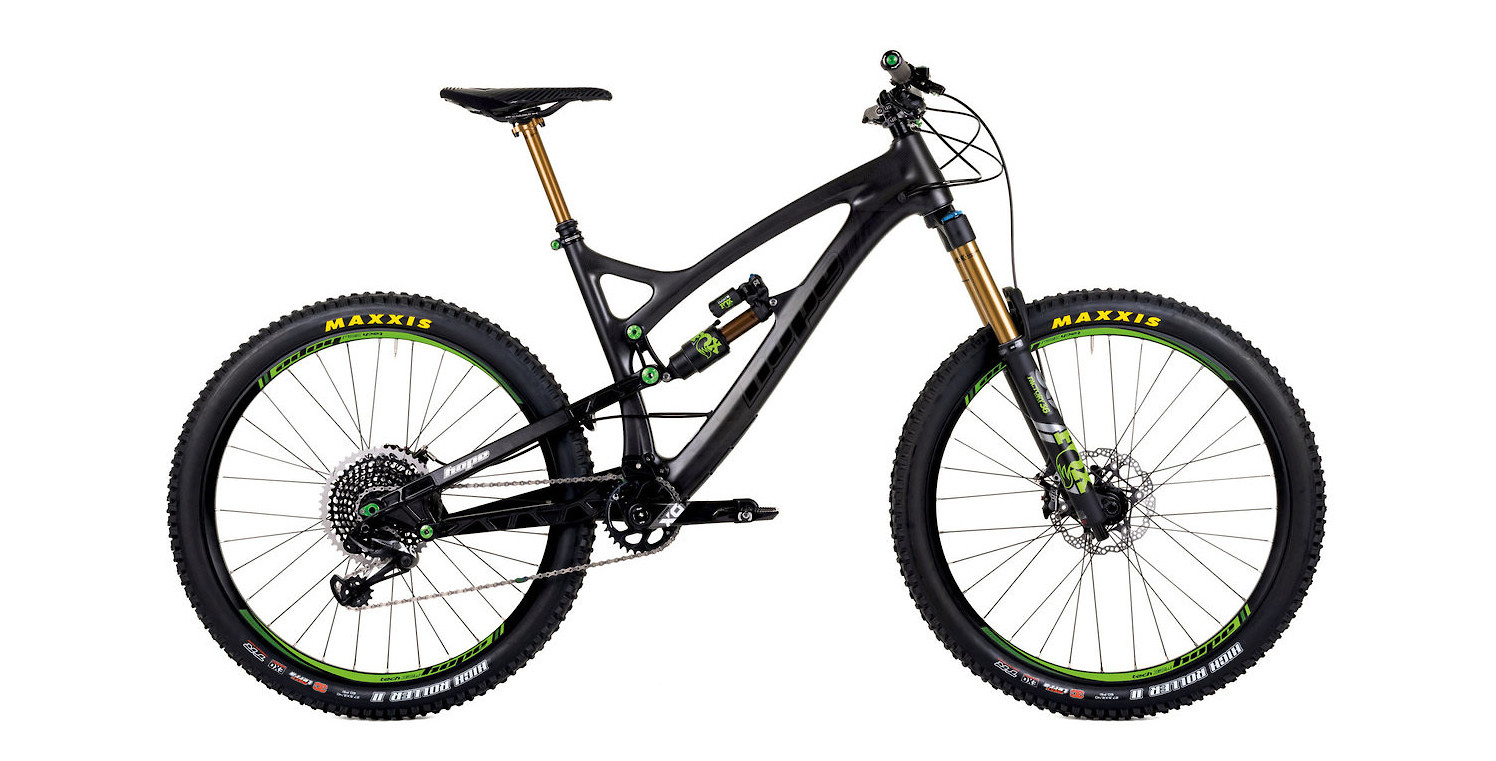 2020 Hope Tech HB.160 (green components)