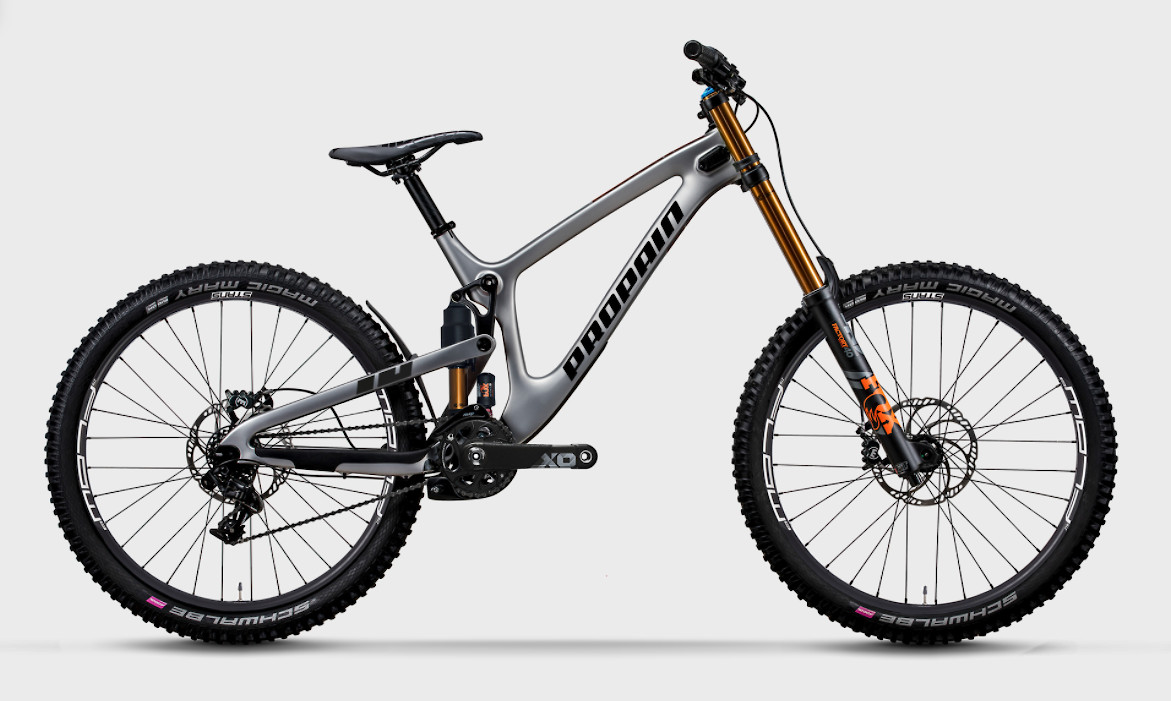 """2020 Propain Rage CF 27.5"""" High End (Silver)"""
