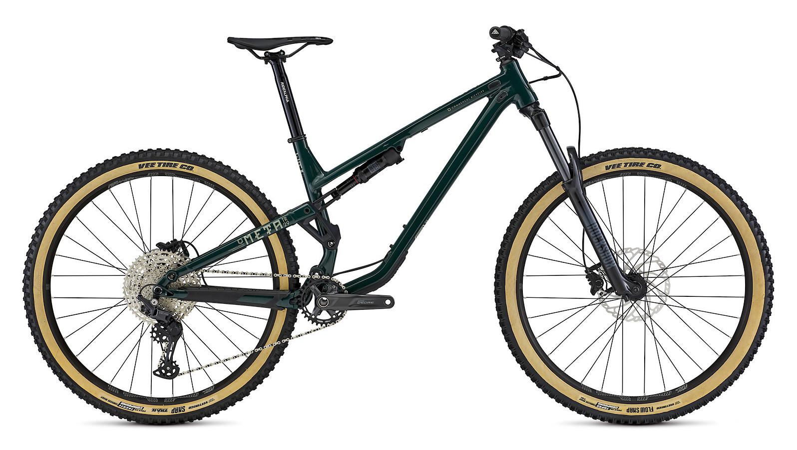 2021 Commencal Meta TR 29 Origin (British Racing Green + tanwall tires)