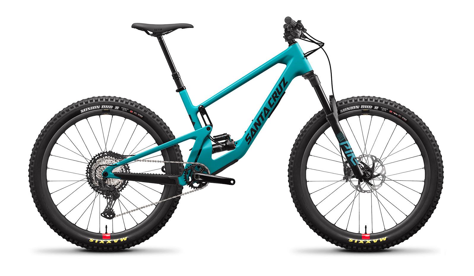 2021 Santa Cruz 5010 Carbon C XT (Loosely Blue and Black, with Santa Cruz Reserve Carbon rims)