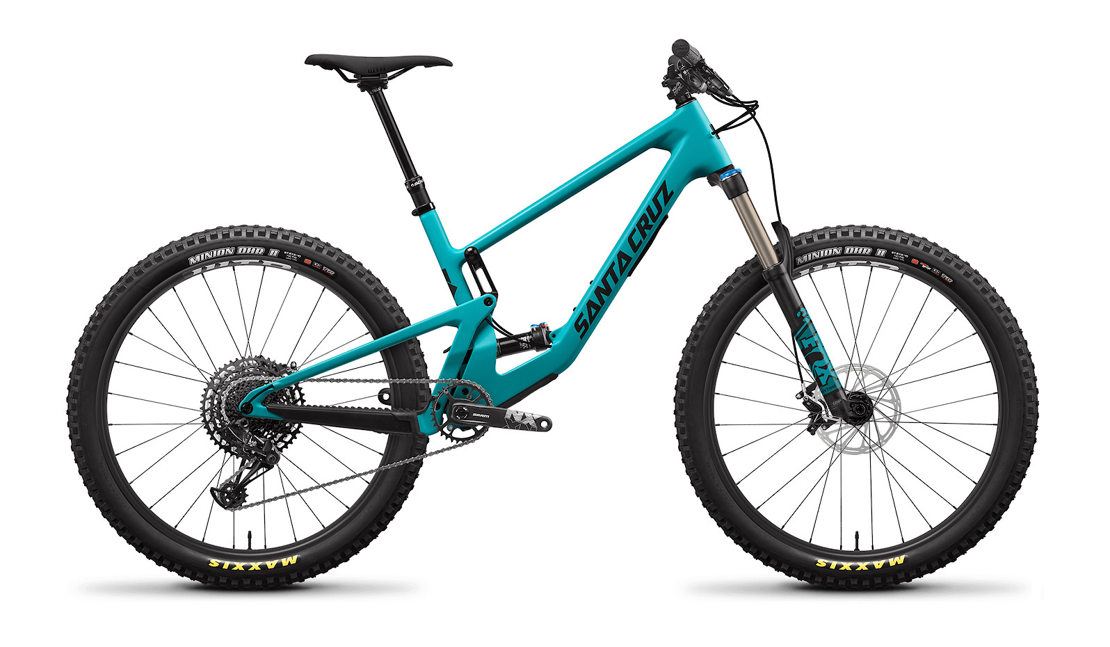 2021 Santa Cruz 5010 Carbon C R (Loosely Blue and Black)
