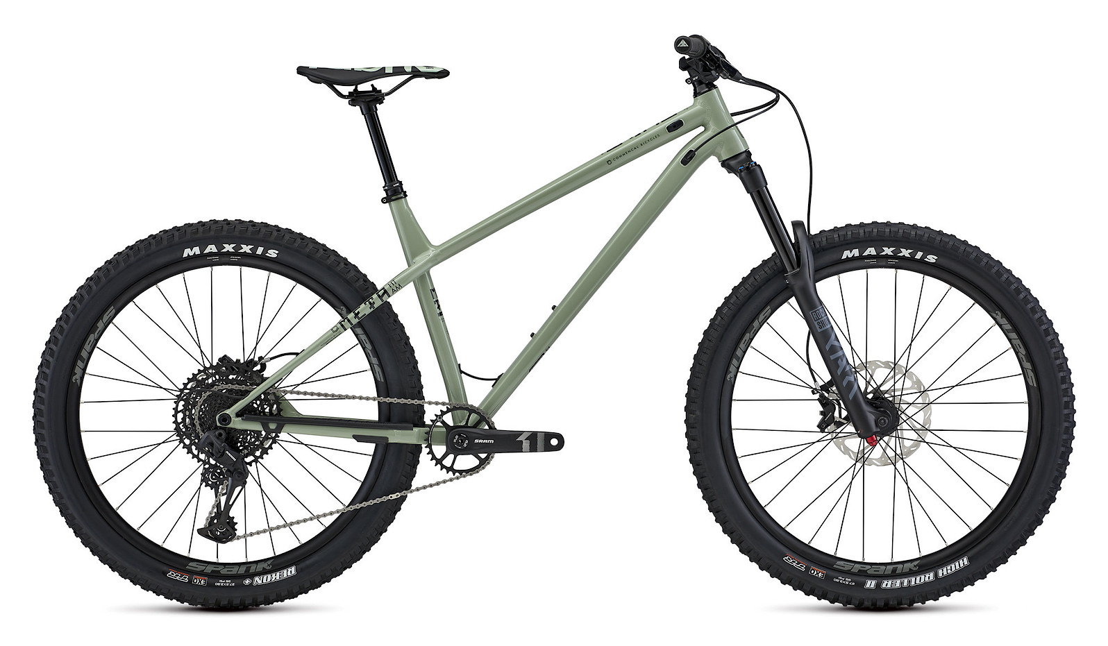 2021 Commencal Meta HT AM Essential (Heritage Green)