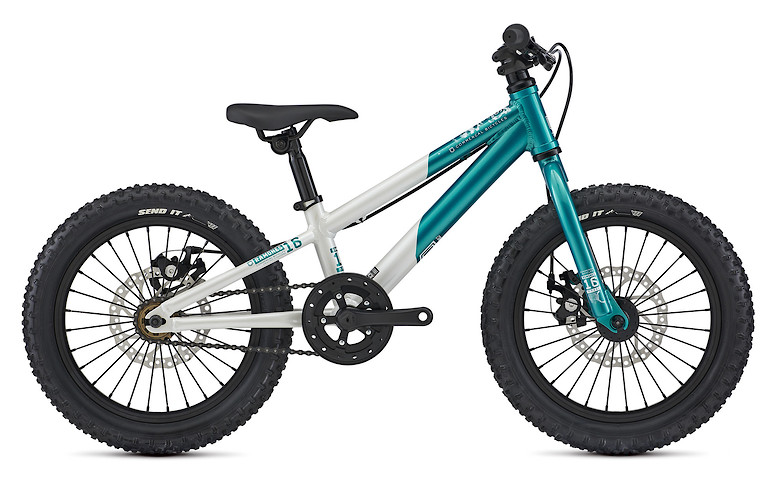 2021 Commencal Ramones 16 (Pearl White/Electroplate Lagoon)