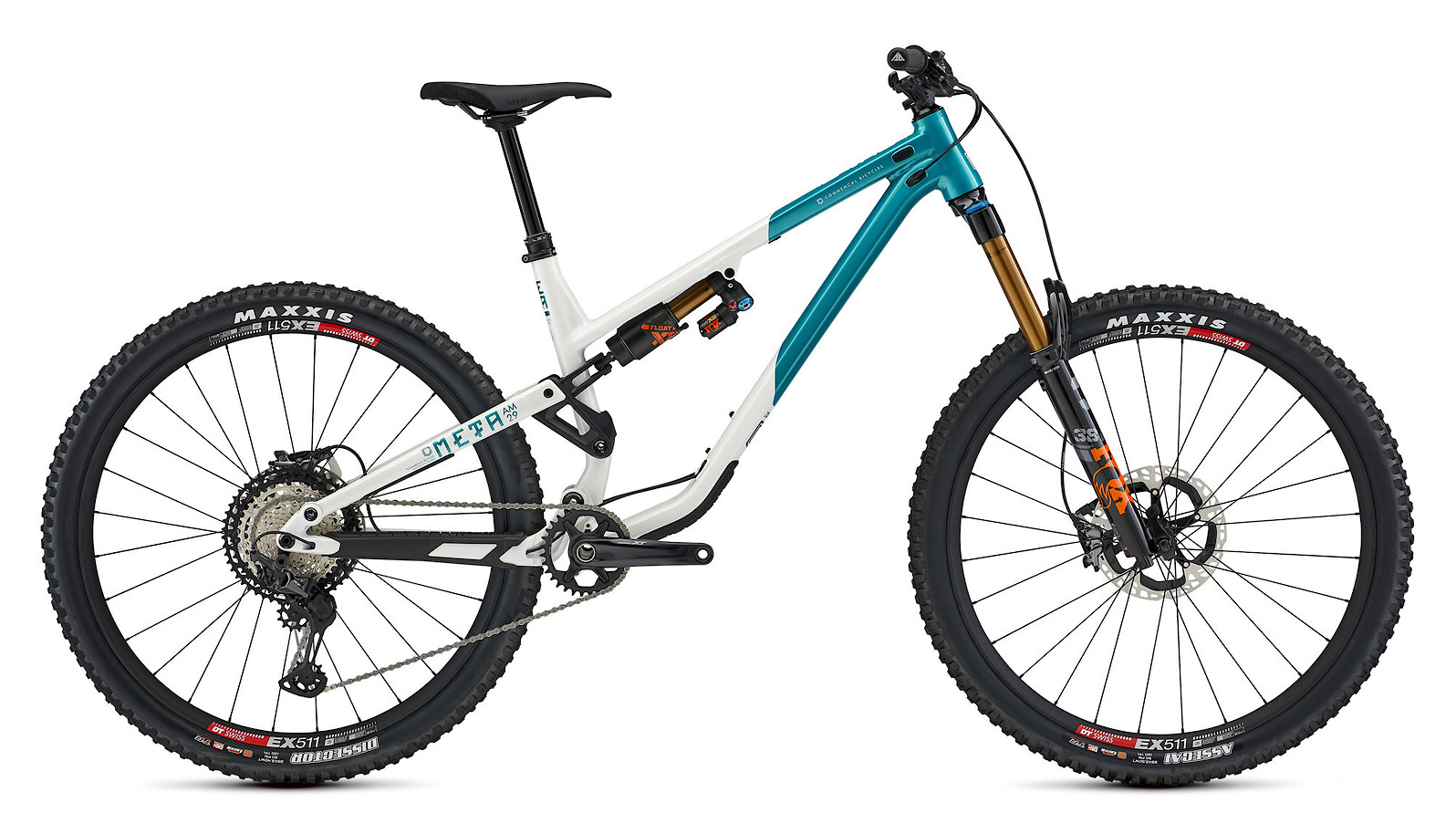 2021 Commencal Meta AM 29 Signature (Pearl White/Electroplate Lagoon)