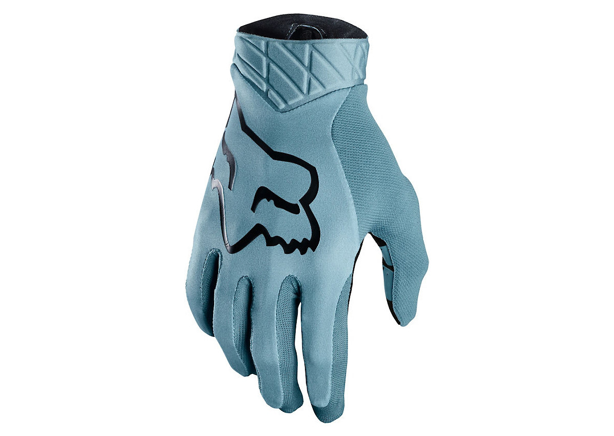 Medium Full Finger Steel Grey Fox Racing Flexair Ascent Glove
