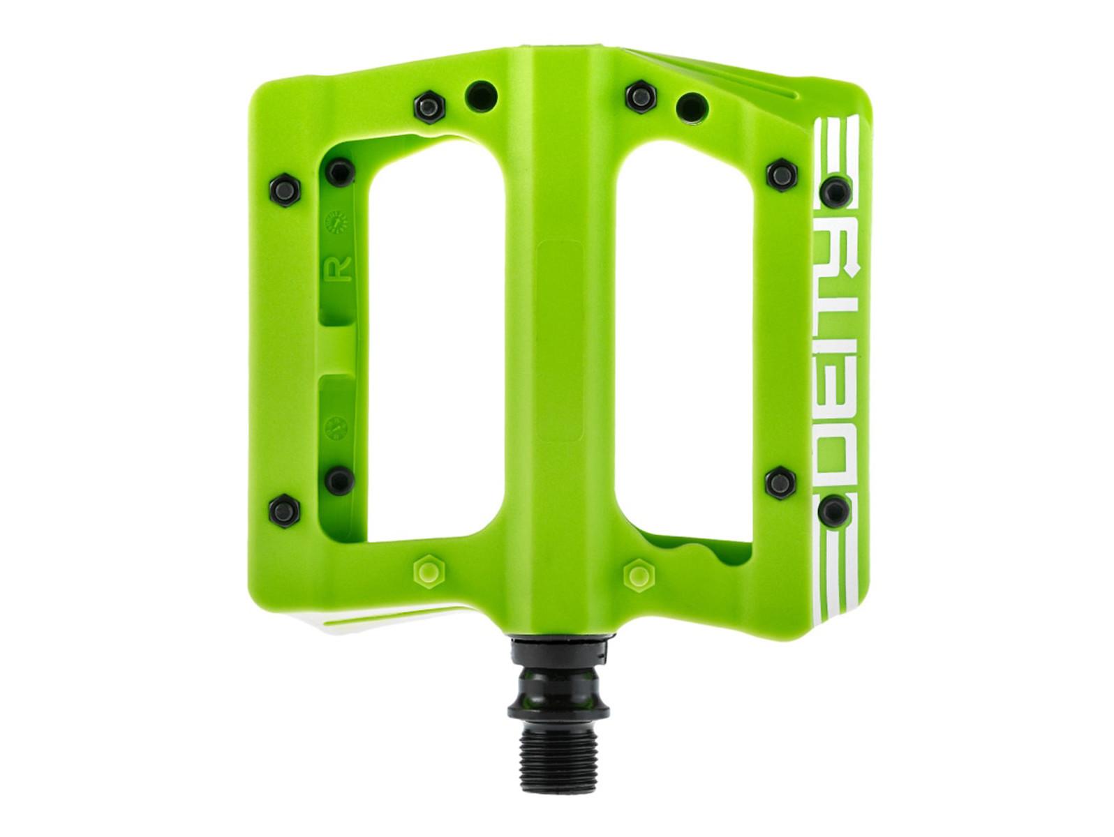 DEITY Compound Nylon Pedal (Green)
