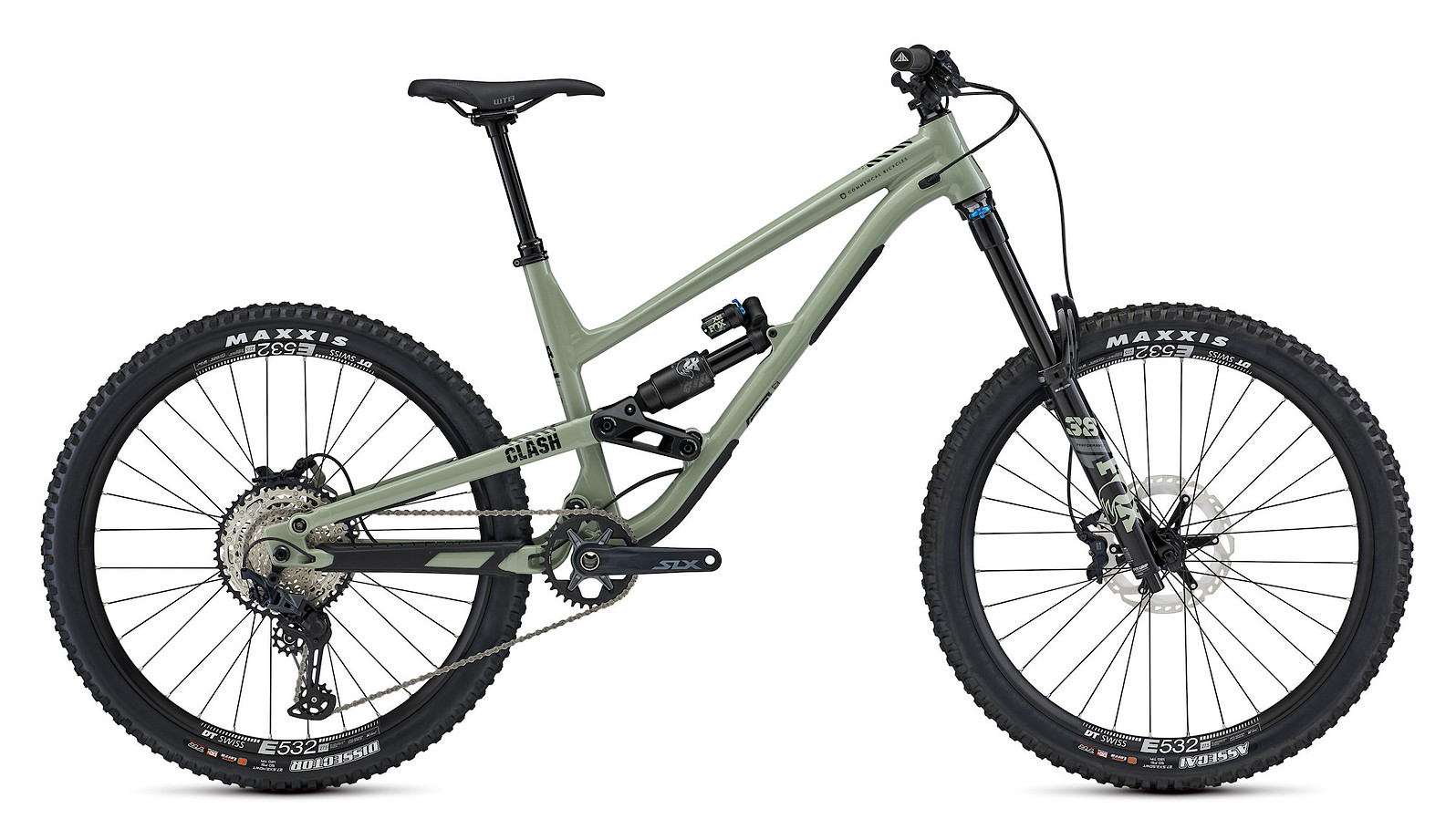 2021 Commencal Clash Essential (Heritage Green)