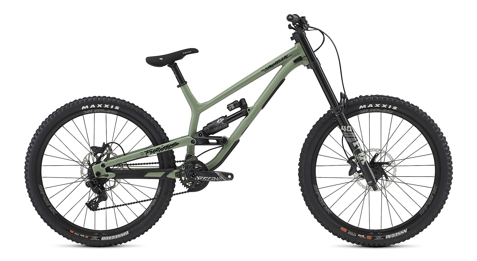 2021 Commencal Furious Essential (Heritage Green)
