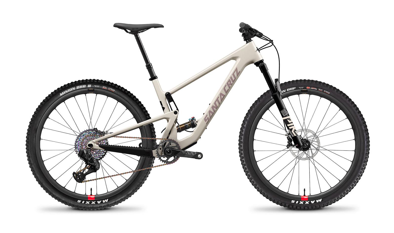 2021 Santa Cruz Tallboy XX1 RSV Carbon CC (Ivory and Gypsum)