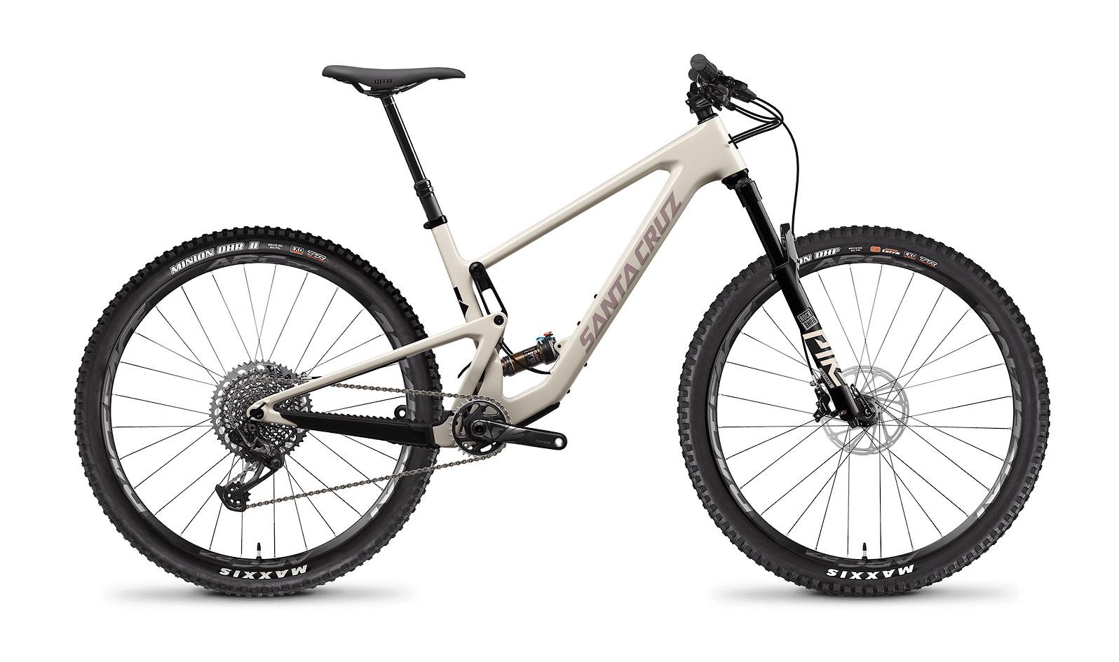 2021 Santa Cruz Tallboy X01 Carbon CC (Ivory and Gypsum)