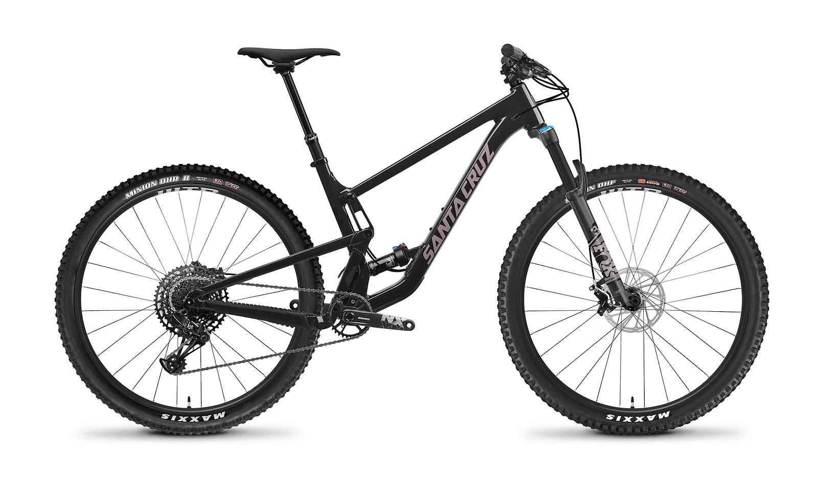 2021 Santa Cruz Tallboy R Aluminum (Glossy Black and Gypsum)